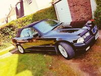 BMW E36 328i Convertible 95k Full Bmw Service history Imaculate