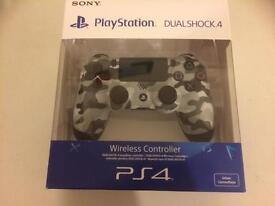 PS4 Controller Camo Gray Brand New