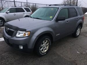 2008 Mazda Tribute GS, Automatic, Leather, Heated Seats, AWD