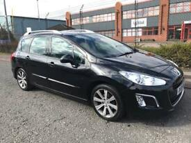 ***PEUGEOT 308 1.6 E-HDI ACTIVE FULL SERVICE HISTORY+FULL HEATED LEATHERS+ALLOYS+1 OWNER***£2790!