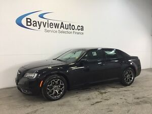 2016 Chrysler 300 S- AWD! REMOTE START! PANOROOF! LEATHER! NAV!