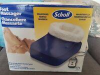 Brand new Scholl Foot Massager