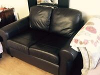 Brown 2 seater sofa sale -50 pounds