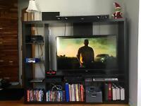 Divan et meuble télé