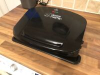George Foreman Large Family 5 Portion Removable Plates Health Grill