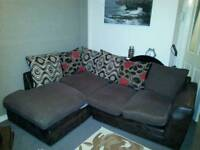 Corner sofa free to uplift baillieston