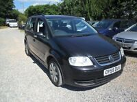 2005'55 VW TOURAN 1.9TDi-SE--6'SPEED MANUAL--7'SEATER--NEW MOT-133K,WITH 12 SERVICES.