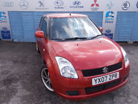 Part ex Direct offers this Swift 1.3 GL with leather seats CAT D £895!!