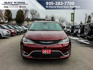 2017 Chrysler Pacifica LIMITED, STOW N' GO, DVD, SAFETYTEC, 360