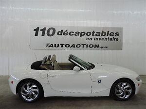 2005 BMW Z4 3.0i DÉCAPOTABLE PARE-VENT