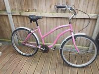 Reflex Ladies Pink Cruiser Bike