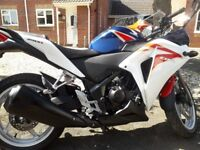Honda CBR250 r - Excellent condition and rides like new.