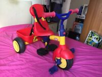 Little Tikes Smart Trike 4 In 1 push along toddler bike