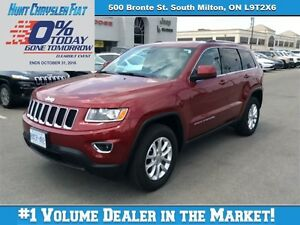 2015 Jeep Grand Cherokee LAREDO, 3.6 PENTASTAR, BLUETOOTH, ALLOY