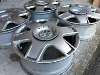 VW alloys (16 inches)