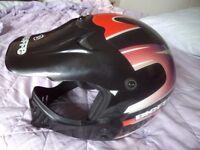 Bieffe Crash Helmet Motocross style ex display Size Size XL 61-62cm