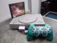Sony PlayStation 1 with Original PS1 Cable, Tekken 3 and 1 Controller