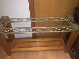 Long narrow console table