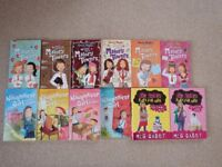 10 paperback novels by Enid Blyton, 6 Mallory Towers and 4 Naughtiest Girl. Also 2 by Meg Cabot