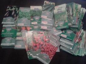 Vegetable Seeds 60+ Packs (Mainly) 'Sew By 2016' Dates On Packet
