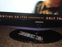 Samsung 32inch tv with remote full working