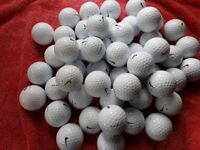 50.MIXED SOFT NIKE GOLFBALLS IN EXCELLENT CONDITION