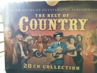 A box set of Country and Western cds