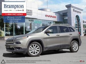 2016 Jeep Cherokee LIMITED | LOW KMS | LEATHER | NAV |