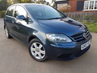 VW GOLF PLUS 1.9 TDI SE, AUTOMATIC, ONE LADY OWNER, FULL SERVICE HISTORY