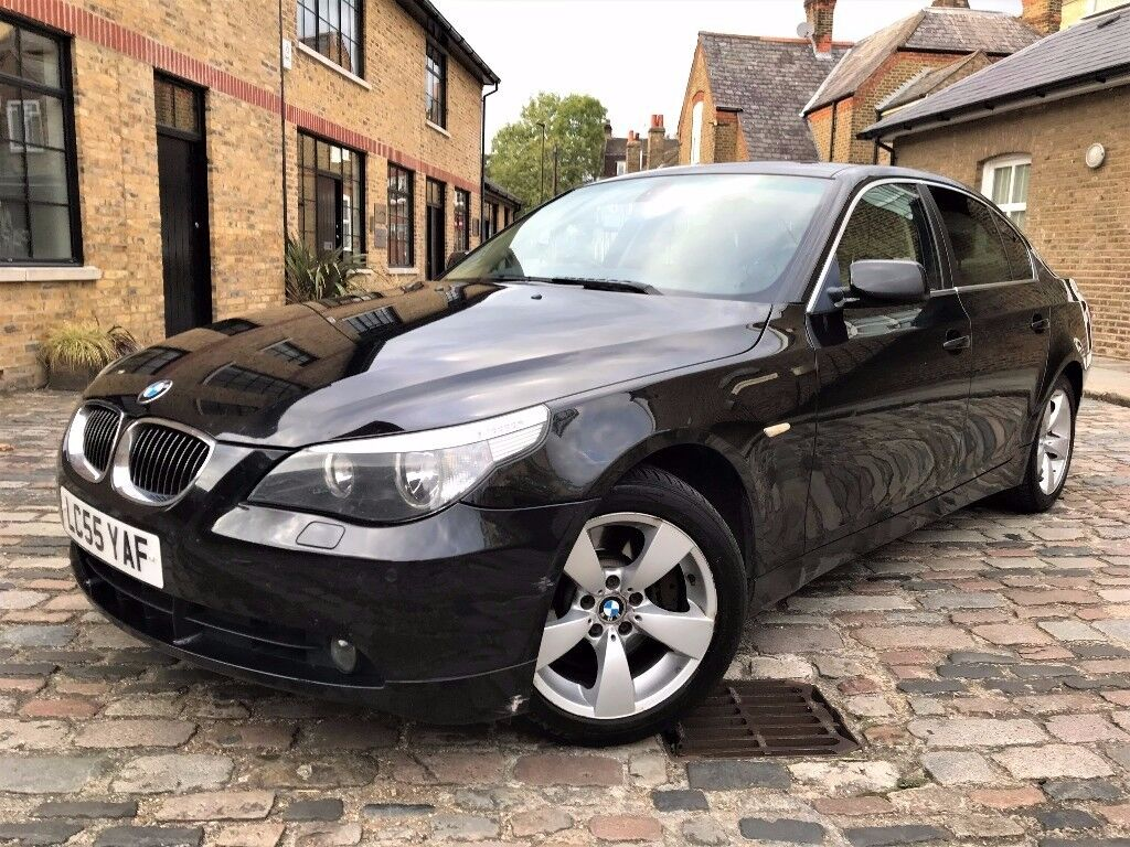 BMW 5 Series 4.0 540i SE 4dr, p/x welcome **FULL S/H**6 MONTHS WARRANTY* 2006 (55 reg), Saloon