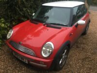 2003 Mini Cooper 1.6 (122k Miles) SPARES OR REPAIR