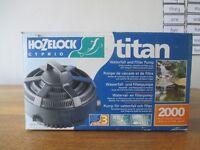 Hozelock titan 2000 Waterfall and Filter Pump