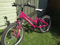 Girls Ridgeback Harmony 20 Inch Bike