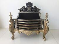 Queen Anne Fire Basket
