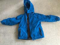 Blue Boy's Ski Jacket age 7-8