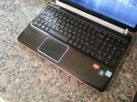 "HP DV6 15.6"" LAPTOP, FAST CORE i7 3.5GHz, 8GB, 1TB, WIFI, WEBCAM, BLUETOOTH, DVD, BLURAY, 1GB RADEON"