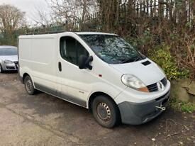 2007 Renault traffic 2.0 tail gate - timing chain engine issue - 130k please read description