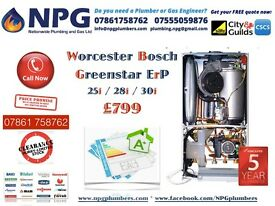 *Worcester Bosch Greenstar 30i ErP Combi-Boiler*50% off RRP*All Makes/Models Available*Limited Offer