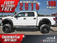 2010 Ford F-150 XLT Lifted 4X4-Back up Cam- TITLE LOANS!
