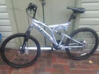 sliverfox drift moumtain bike