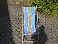 2 original style Deck Chairs