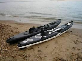 Kayak boat mould