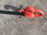 Electric 17 inch Hedge cutters.