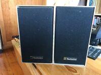 Technics SB 30 Bookshelf Speakers
