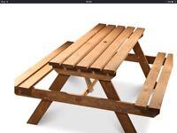 Garden Picnic Table For Sale