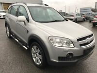 Outstanding Value 2009 Captiva 2.0 CDTI Diesel 4x4 7 Seater SUV Nov 2018 MOT! HPI Clear Service Hist