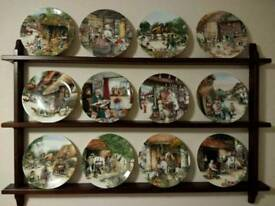 'Old Country Crafts' Plate collection
