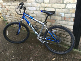 Silver fox SFZ Kickass mountain bike with front suspension