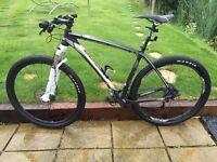 Merida carbon comp mountain bike.