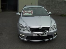 Skoda Octavia Deisel Estate VRS Silver cam belt kit fitted recently and front discs and pads